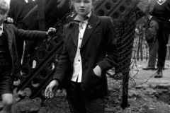 In Your Dreams, January 1955. Jean Rayner, 14, in the exploratory stage of Teddyism. One of a series of photographs entitled Last of the Teddy Girls. Taken by the film director Ken Russell