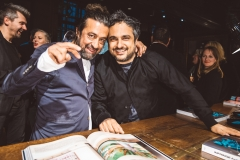 Anthony Mascolo & Angelo Seminara at the launch of Infringe - An Anthropology of Hair