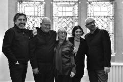 Mark Hayes, Billi Currie, Annie Humphreys, Silvia Salerno and Neil Aktinson