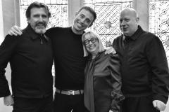 Mark Hayes, John Vial, Annie Humphreys and Billi Currie