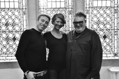 John Vial, Tina Anderson and Tim Hartley