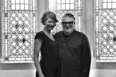 Tina Anderson and Tim Hartley