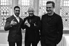 Jay Mahmood, Andy Gilbert and Edward Darley