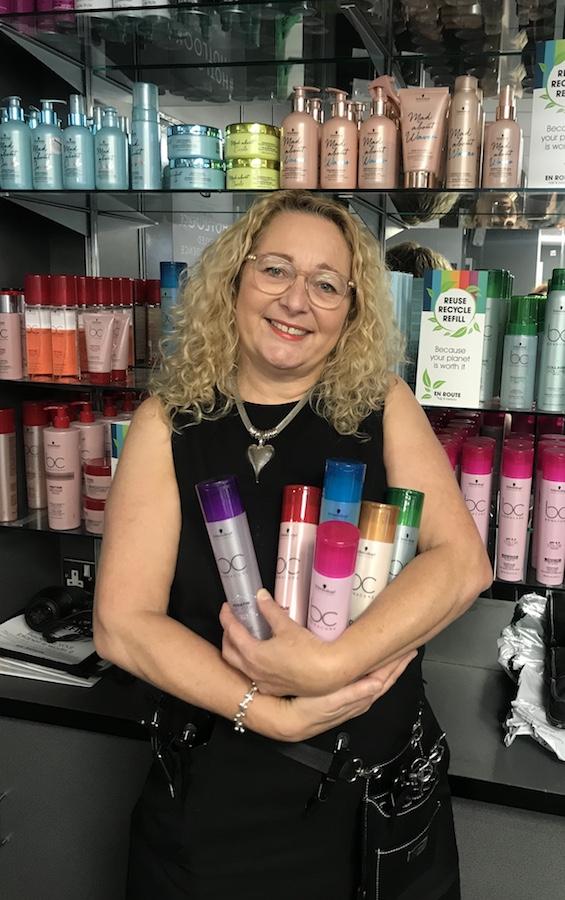 Melenie Tudor of En Route salon