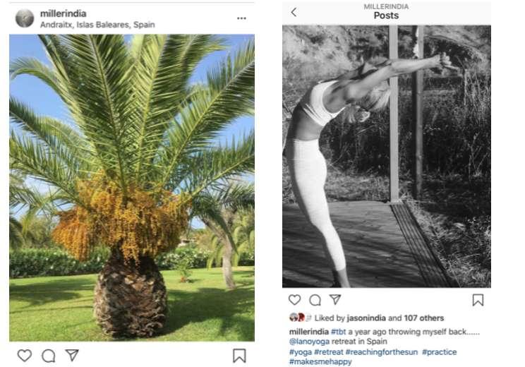 Instagram Jason & India Miller